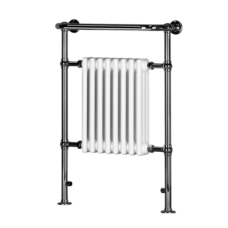 Small Victorian Towel Rail: Traditional Victorian Chrome Heated Bathroom Towel Rail