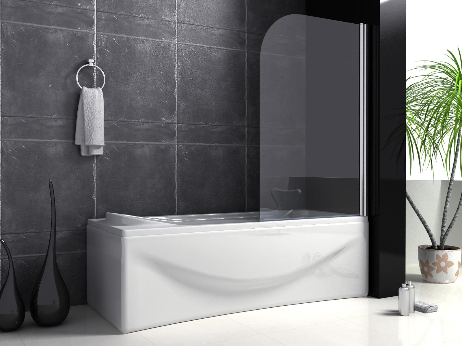 Trennwand Dusche Badewanne : Bitte teilen Sie uns f?r eventuelle R?ckfragen bei der Zustellung