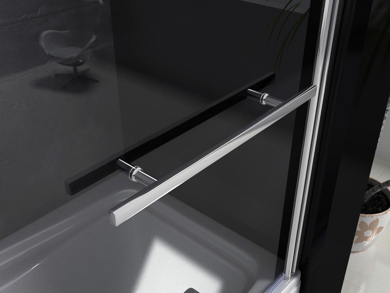 Trennwand Dusche Badewanne : Trennwand Badewanne Dusche : 80x140cm Badewanne Dusche Drehen 180
