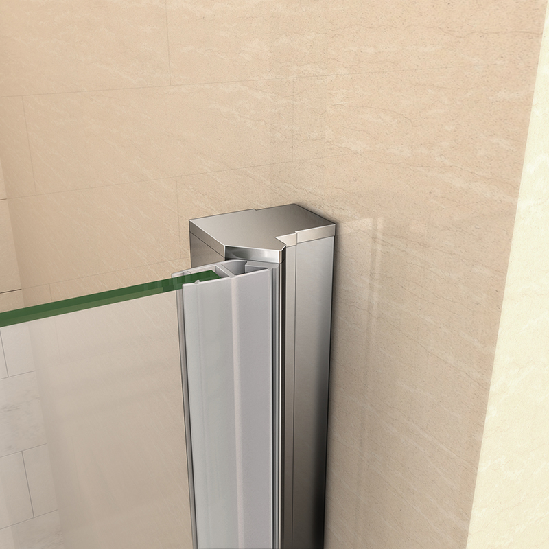 Frameless Shower Enclosure Pivot Door Hinges Cubicle 6mm