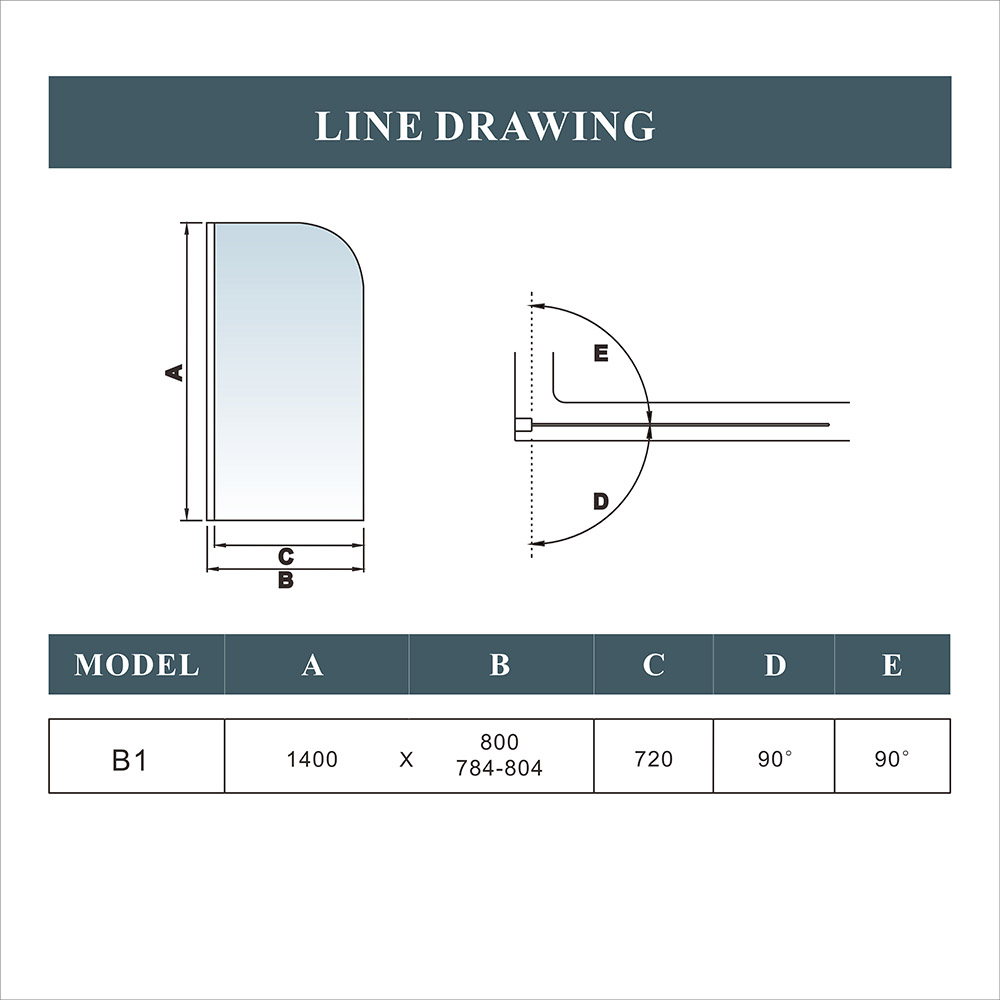 shower screen fitting instructions