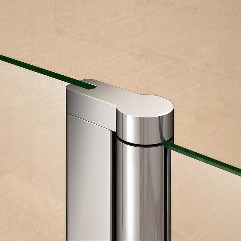 Aica Pivot Folding Hinge Bath Screen Shower Door Panel 1400mm Glass Amp Seal Ebay