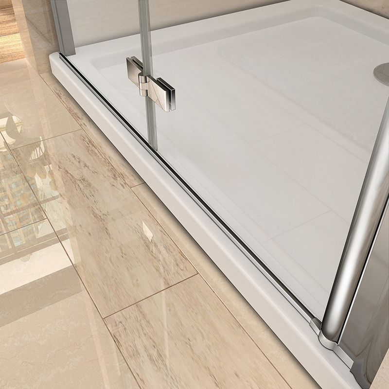 Frameless Pivot Bifold Shower Enclosure Door Glass Screen