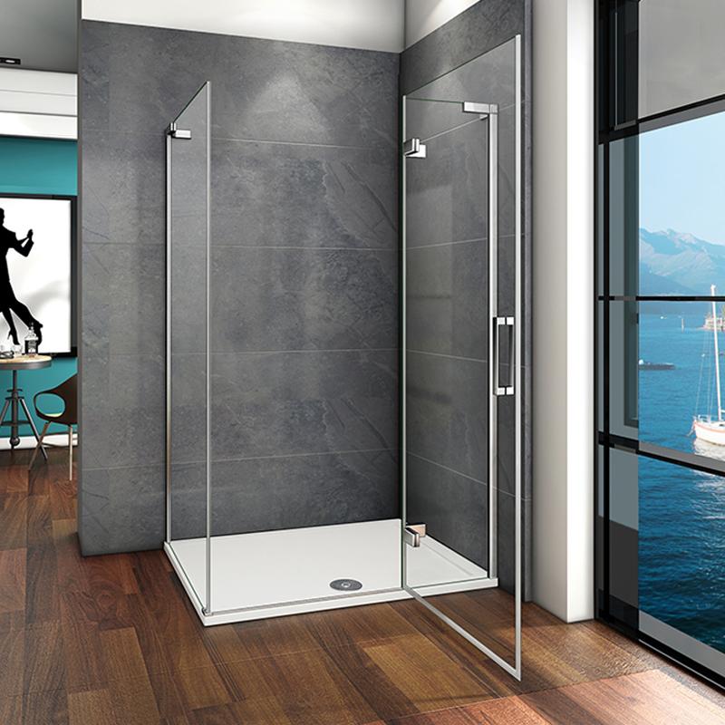 1200 Frameless Hinge Shower Enclosure Door Screen Cubicle