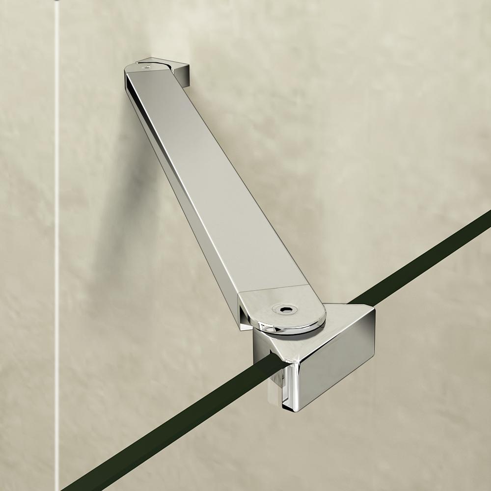 Aica frameless pivot walk in shower door enclosure tray for 1000 pivot shower door