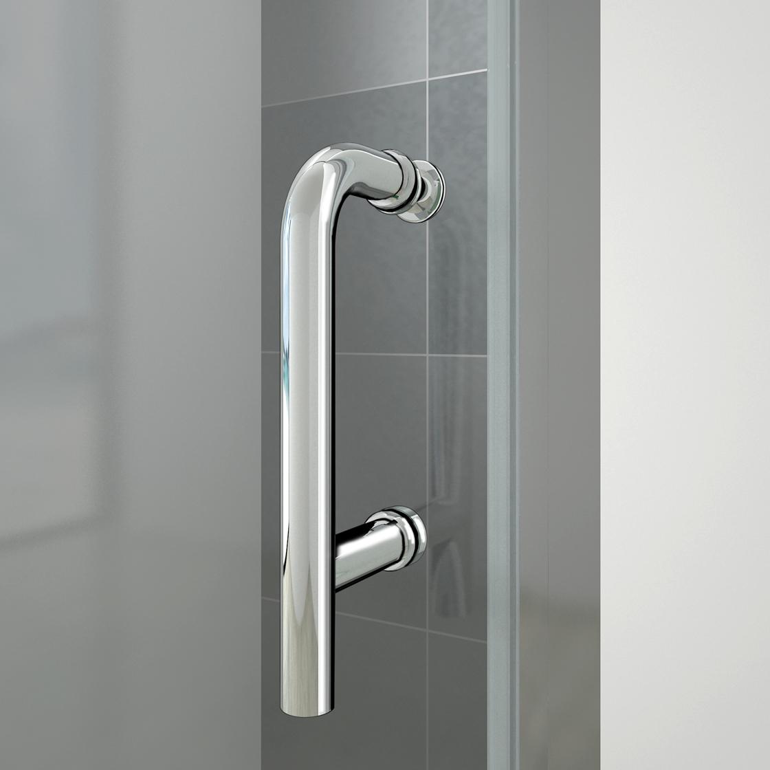 Aica pivot shower door enclosure walk in screen glass for 1000 pivot shower door