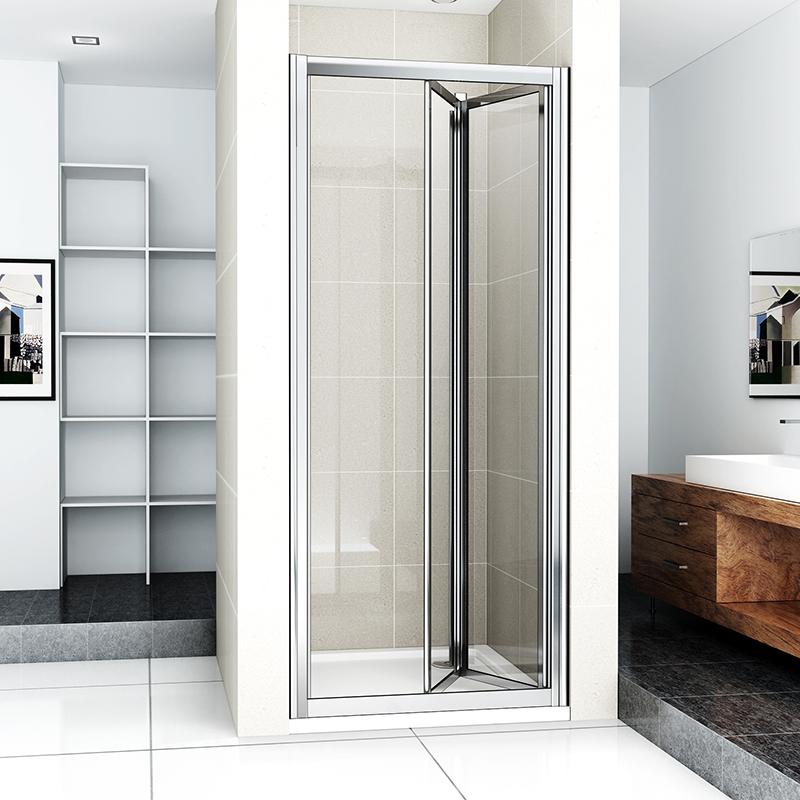 New Bi Fold Shower Enclosure Easyclean Glass Screen Door