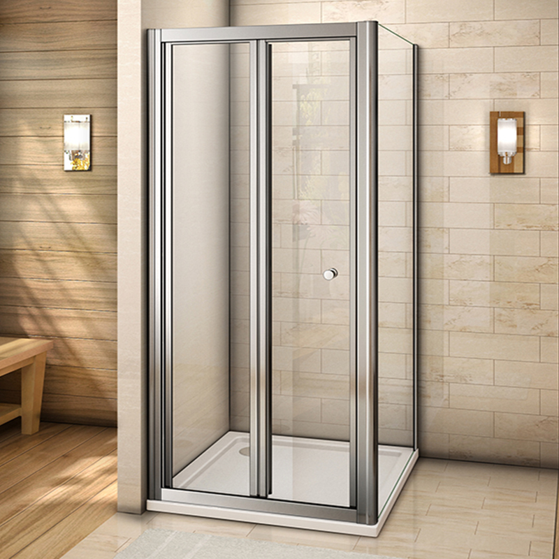 Bifold Shower Enclosure And Tray Waste Walk In Glass