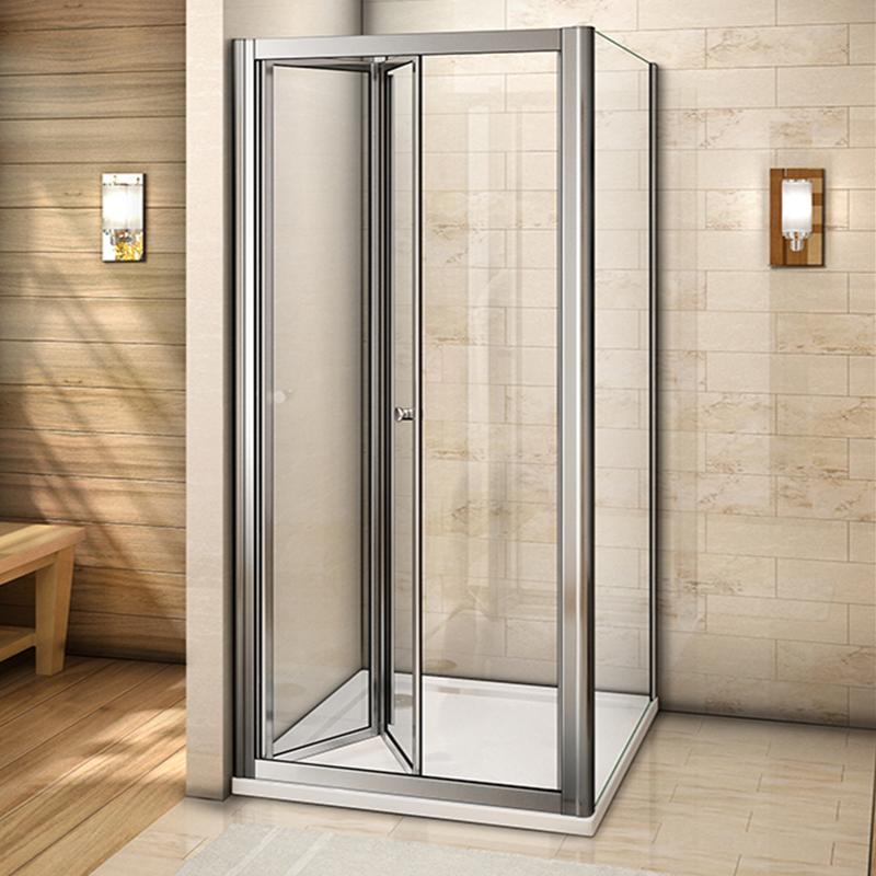 Frame Frameless Bifold Shower Enclosure Amp Tray Walk In