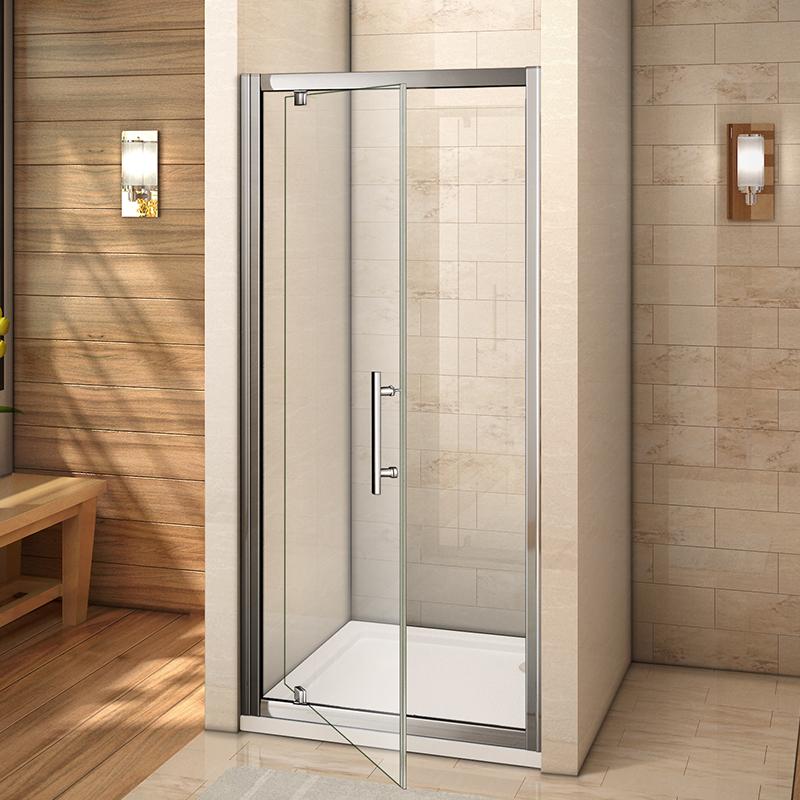 Frameless shower enclosure pivot door hinges cubicle 6mm for 1000 pivot shower door
