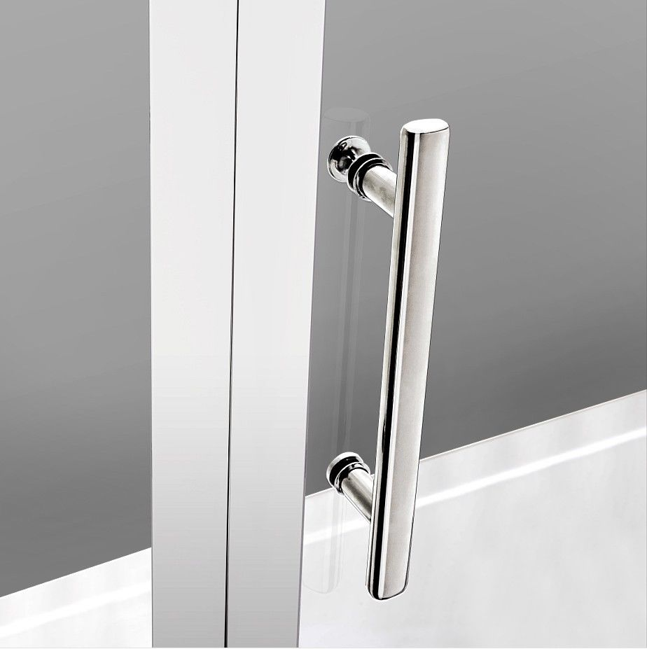 Pivot Hinge Shower Door Enclosure 6mm Safety Glass Screen