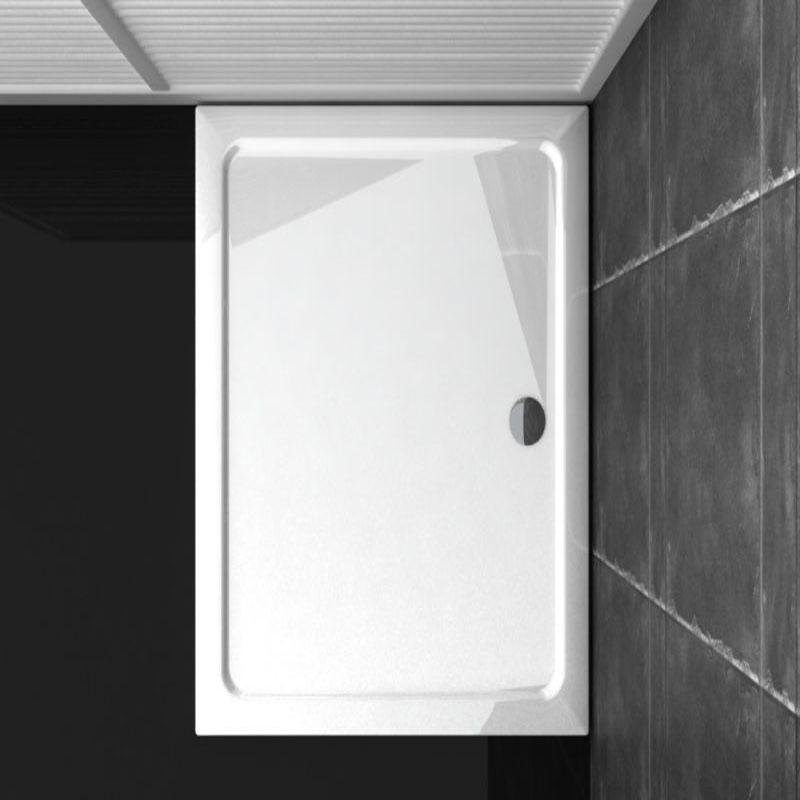 100x76 duschtasse duschwanne dusche aus kunststein for Dusche ohne tasse