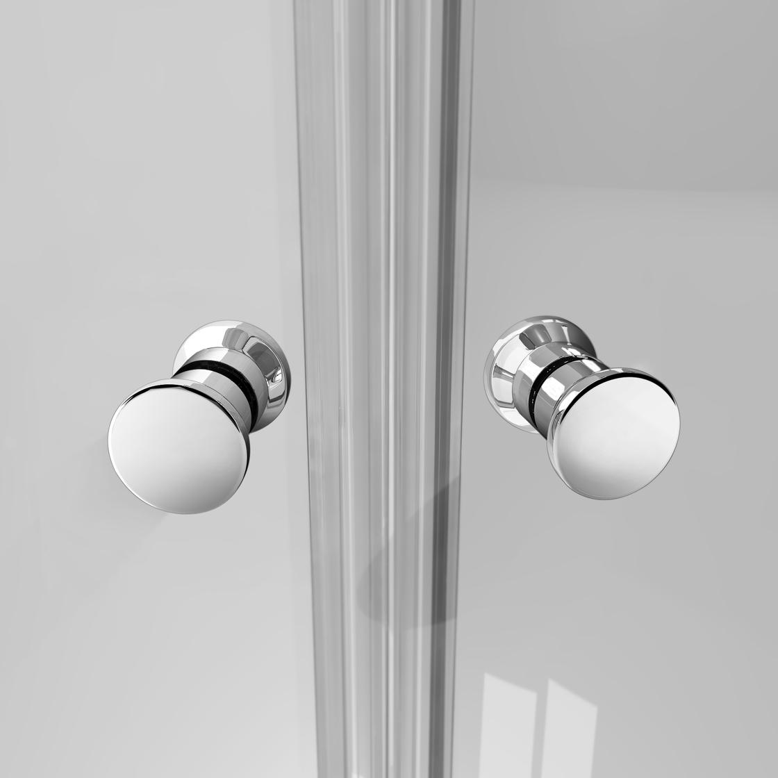 duschkabine duschabtrennung dreht r nischent r dusche duschwand nano glas ebay. Black Bedroom Furniture Sets. Home Design Ideas