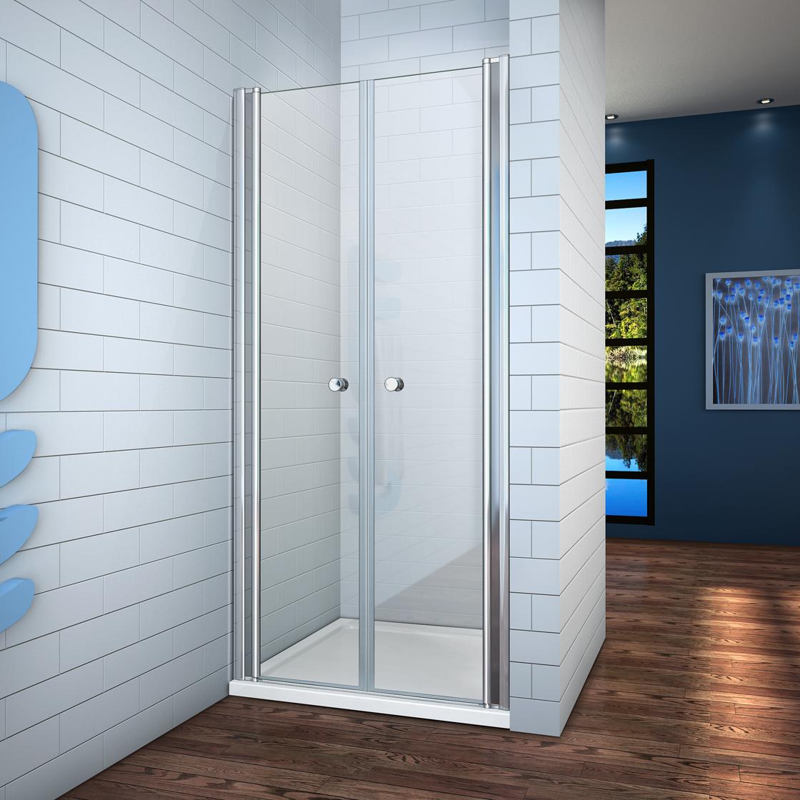 duschabtrennung duschkabine 180° schwingtür duschwand dusche