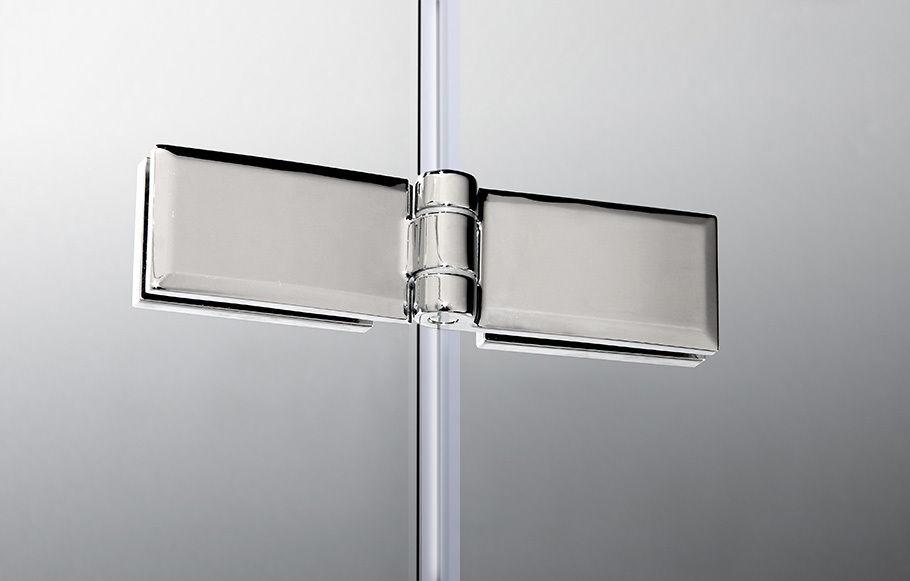 Parete vasca doccia pieghevole 2 ante vetro temperato for Parete vasca pieghevole