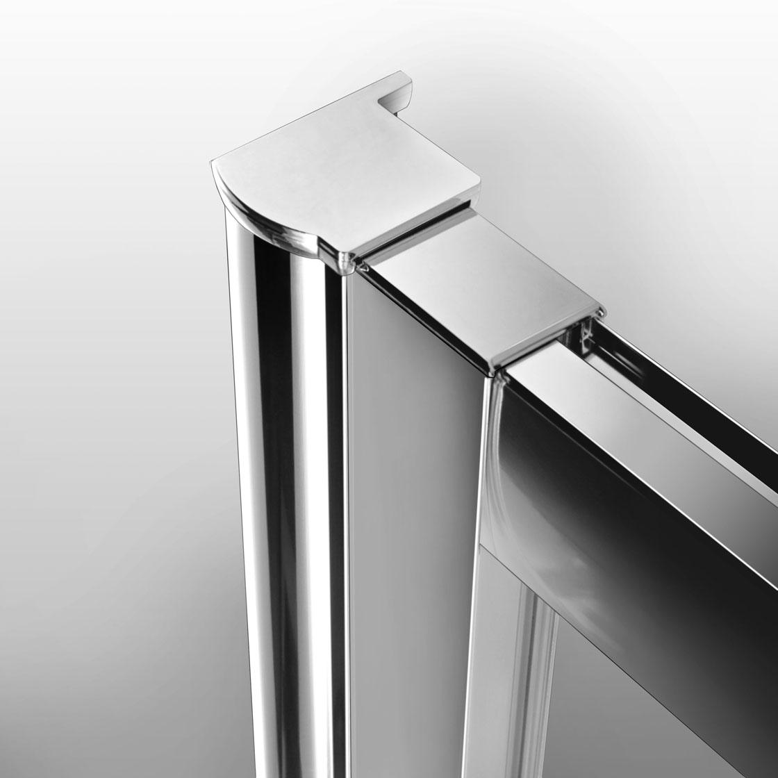 duschkabine duschabtrennung schiebet r eckeinstieg dusche duschwand duschtasse. Black Bedroom Furniture Sets. Home Design Ideas