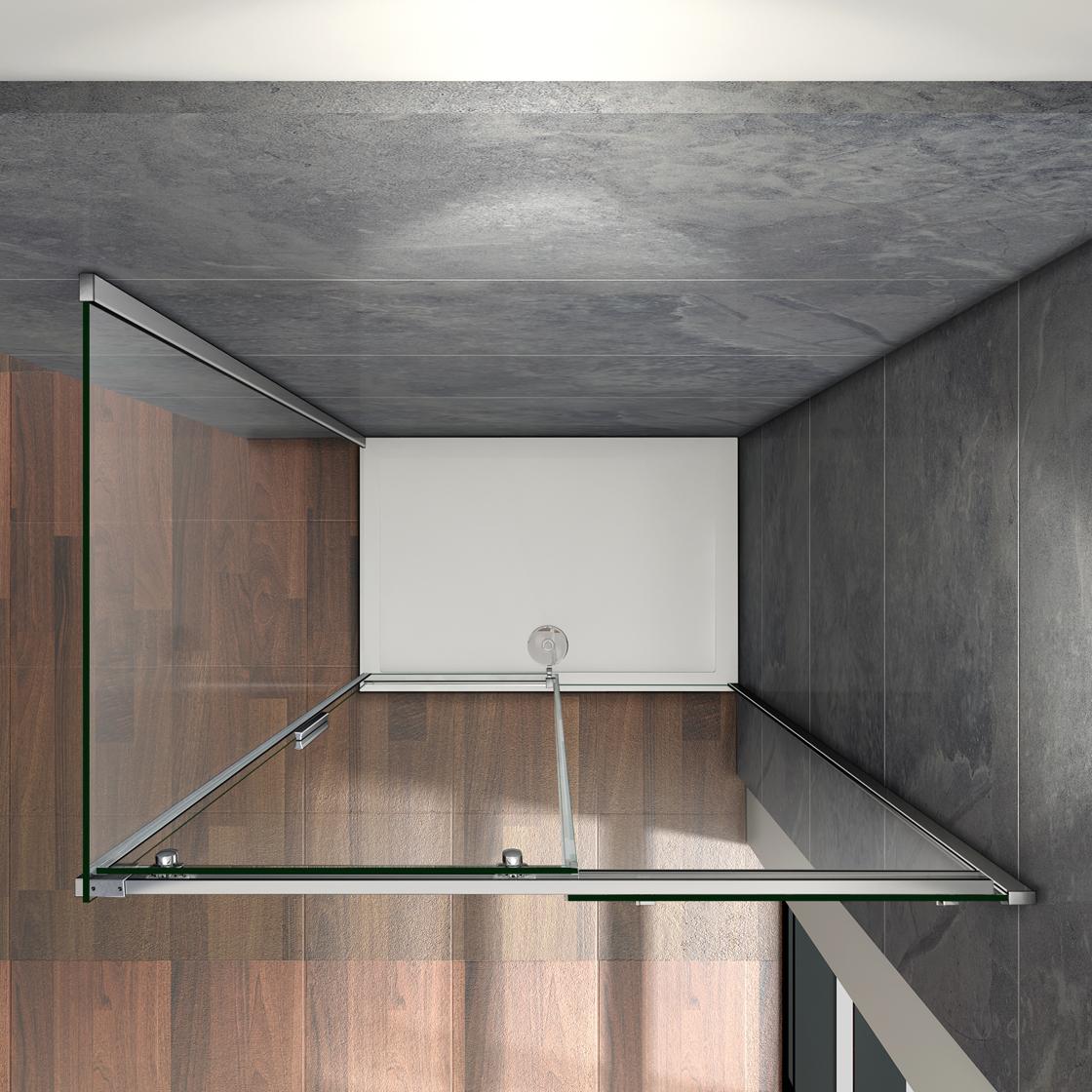 duschabtrennung schiebet r duschkabine duschwand walkin. Black Bedroom Furniture Sets. Home Design Ideas