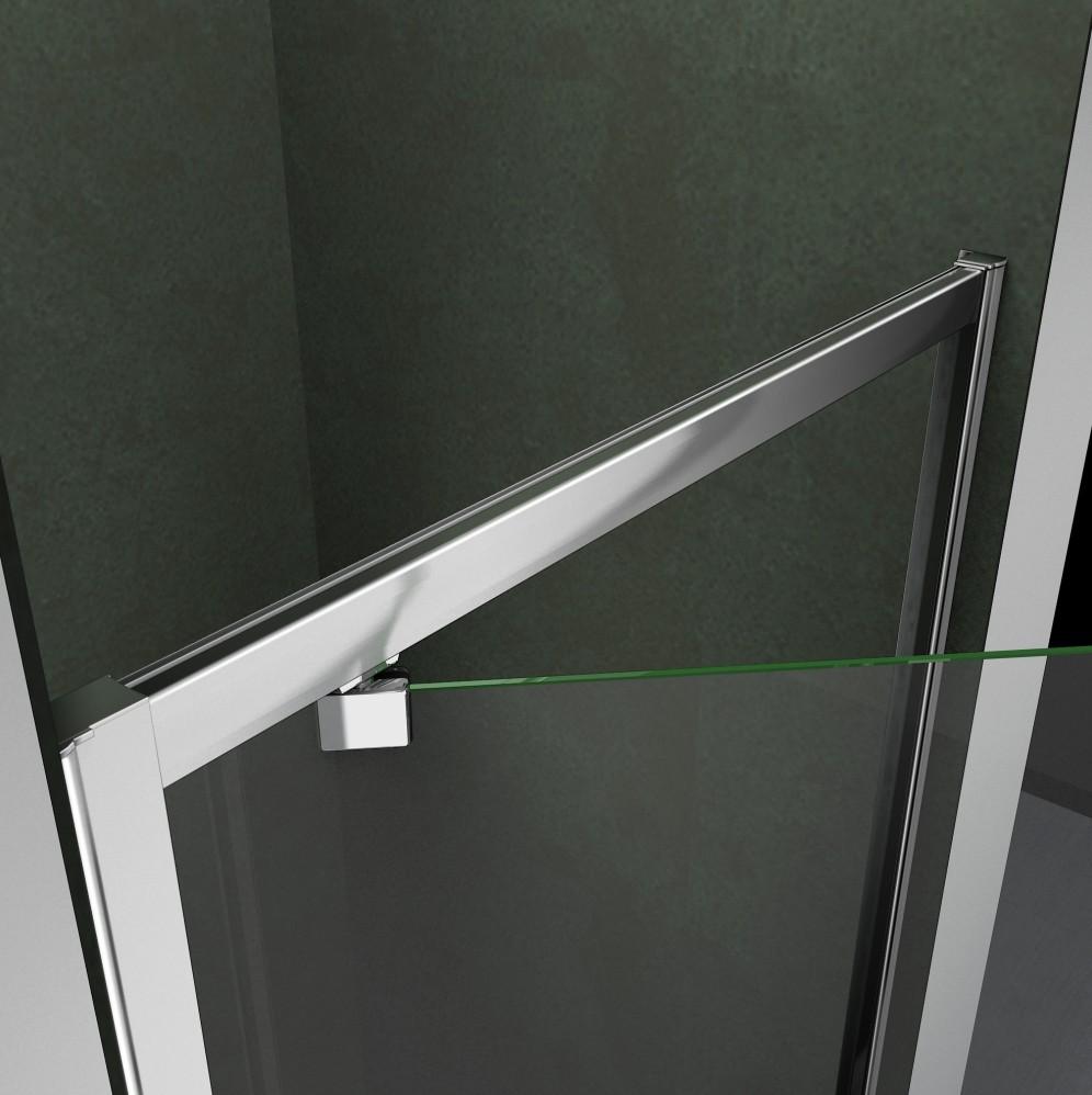 Frameless Frame Shower Enclosure Pivot Door Hinges Cubicle
