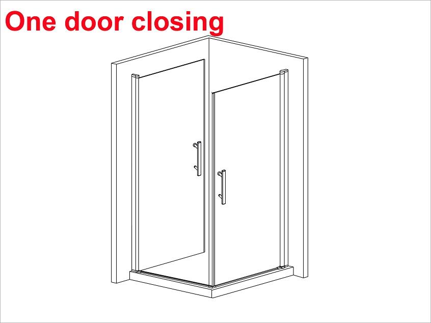 1000x900mm frameless pivot shower door enclosure 180 swing for 180 degree swing door