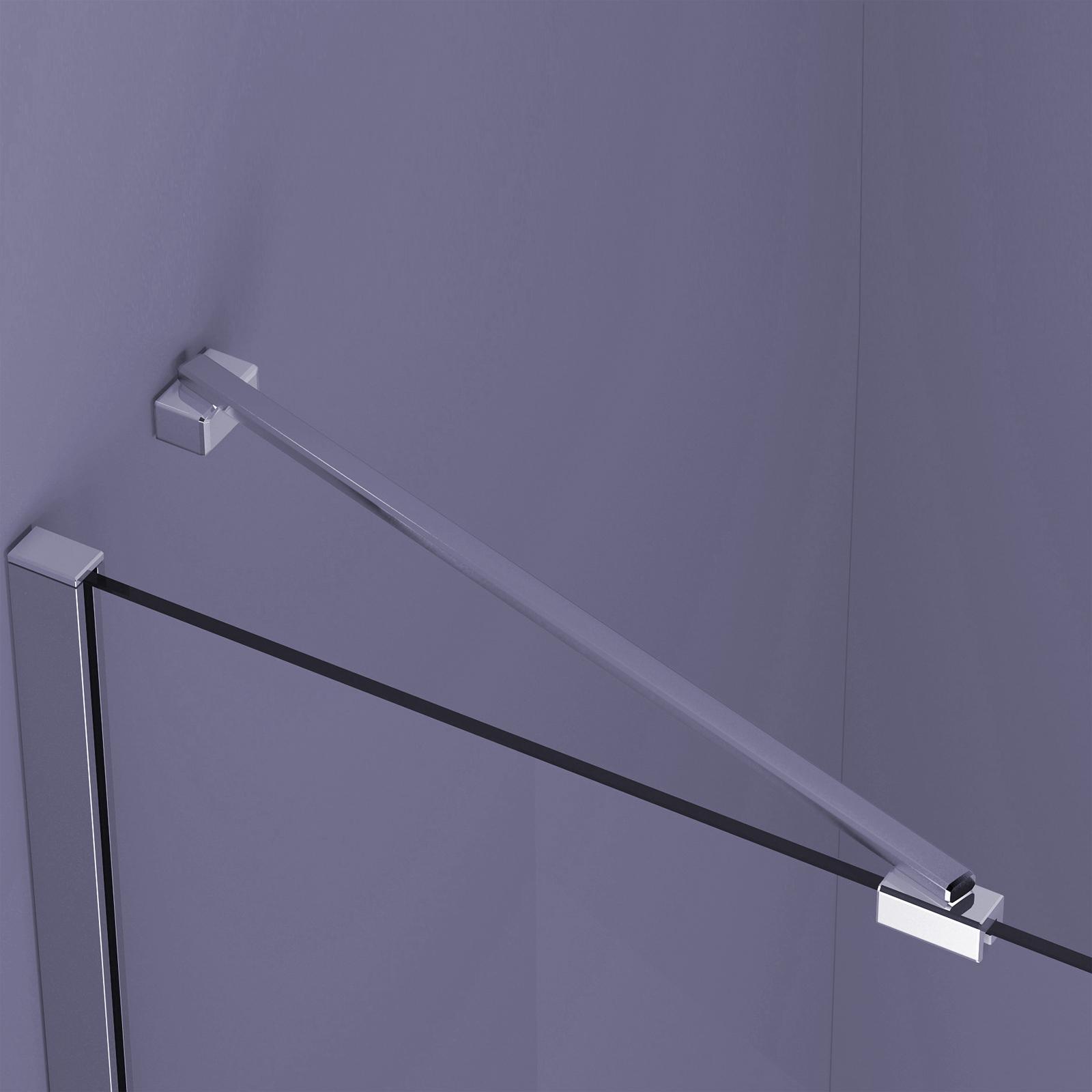Mm Shower Glass Support Bar Chrome