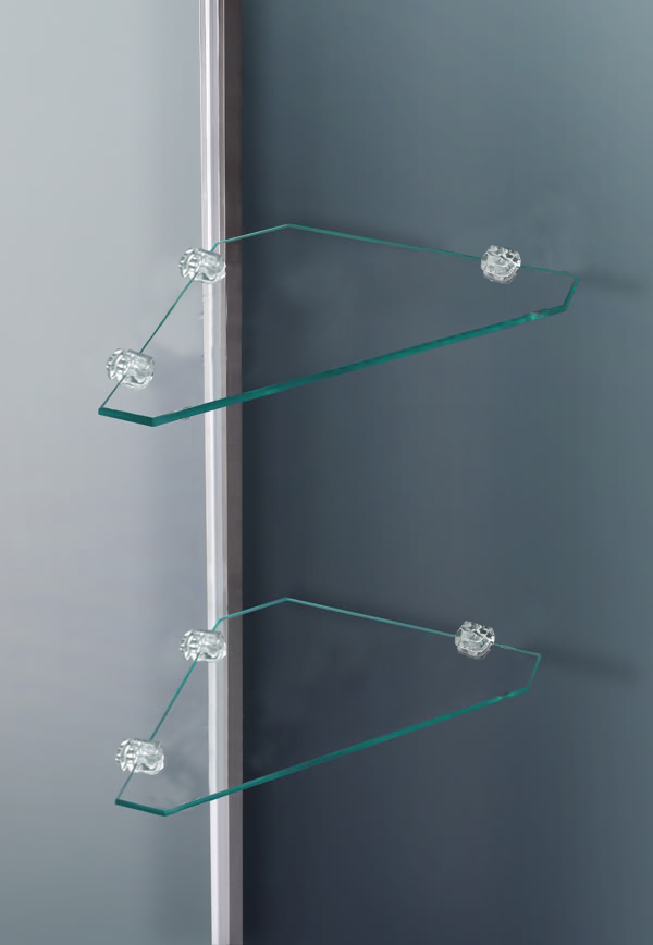 800x1850mm Walk In Wet Room Shower Enclosure Glass Cubicle