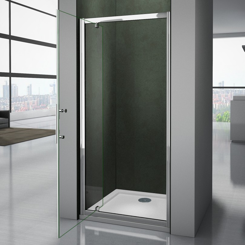 Frameless Frame Shower Enclosure Pivot Door Hinges Cubicle