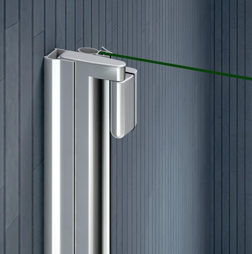 Aica Tempered Glass Over Bath Shower Screen Wide Door Panel Pivot Radius EBay