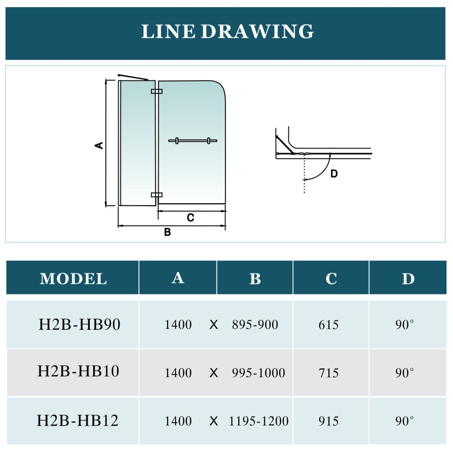 lakes shower screen fitting instructions
