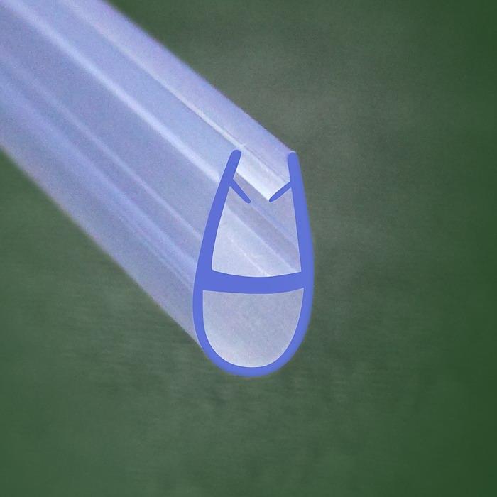 Bath Shower Screen Door Seal For 4mm Amp 6mm Glass A618 Ebay