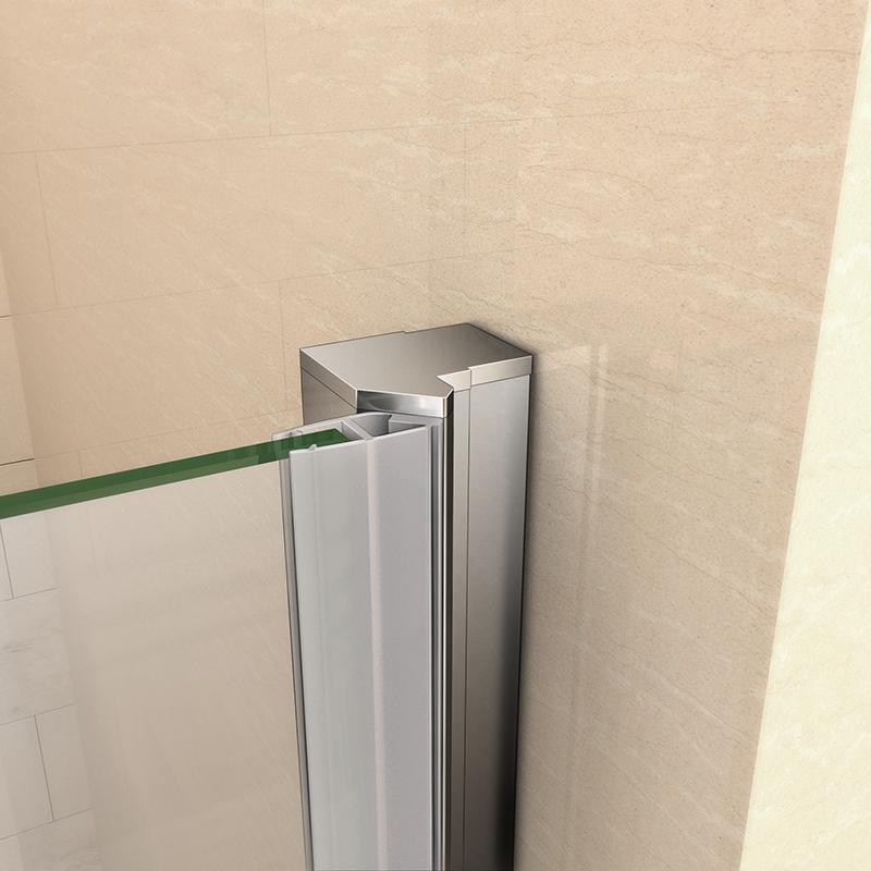 Bathroom Door Hinges : Frameless shower enclosure pivot door hinges cubicle mm