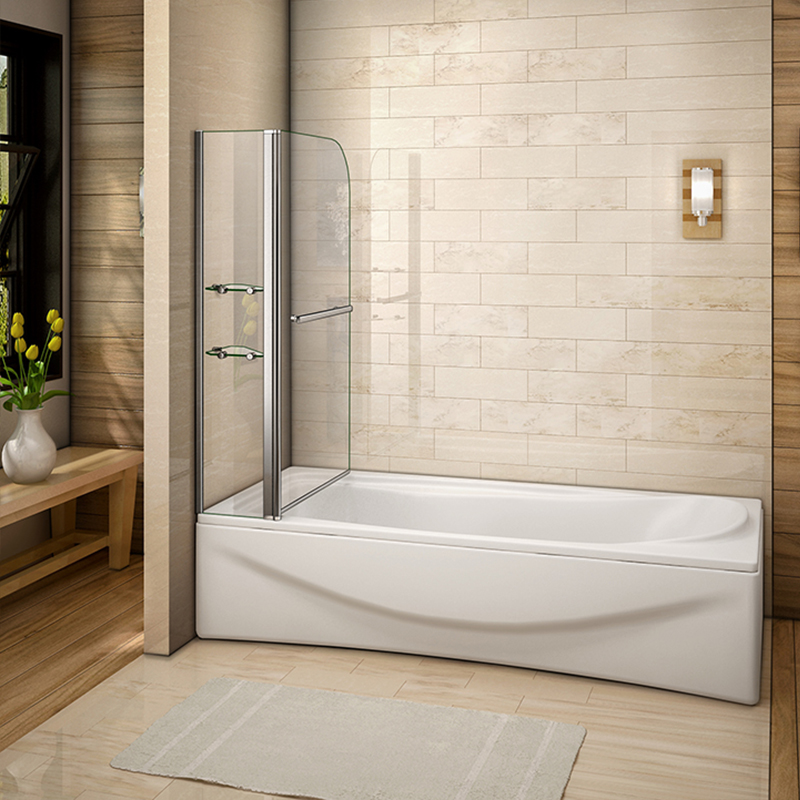 how to clean old glass shower screen
