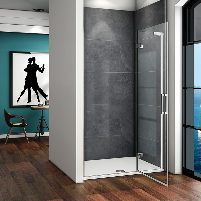 Hinge Shower Enclosure 8mm Nano Glass Screen Cubicle Door