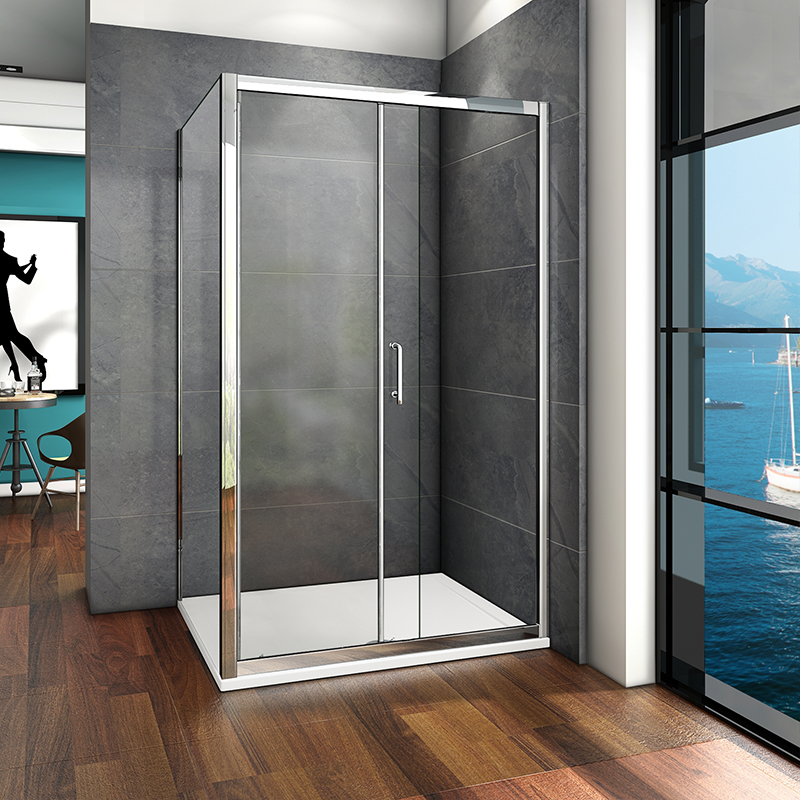 Sliding Shower Enclosure And Tray Waste Door Side Panel