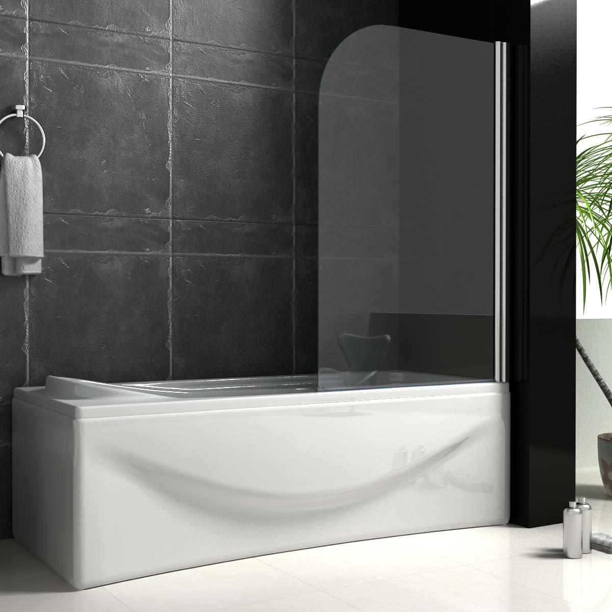 Bi Fold Shower Screens Over Bath Aica 180 176 Pivot Radius Frameless Over Shower Bath Screen
