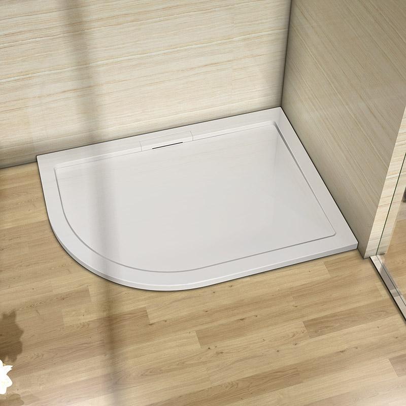 40mm Slimline Shower Enclosure Rectangle Square Quadrant