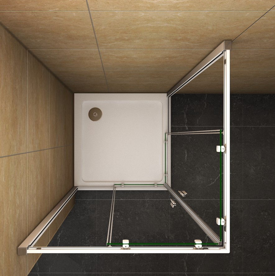 duschkabine duschabtreng eckeinstieg echtglas glas schiebet r dusche duschwand h ebay. Black Bedroom Furniture Sets. Home Design Ideas