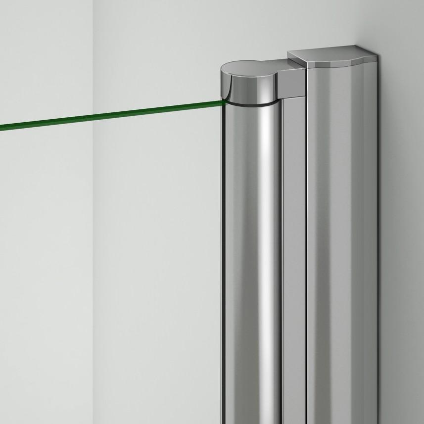 80x80 90x90 duschabtrennung viertelkreis runddusche eckeinstieg glas duschkabine ebay. Black Bedroom Furniture Sets. Home Design Ideas