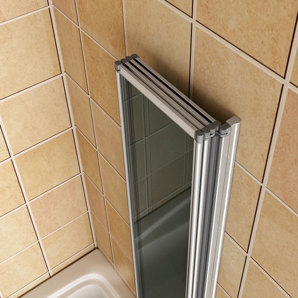 Aica Pivot Folding Hinge Bath Screen Shower Door Panel