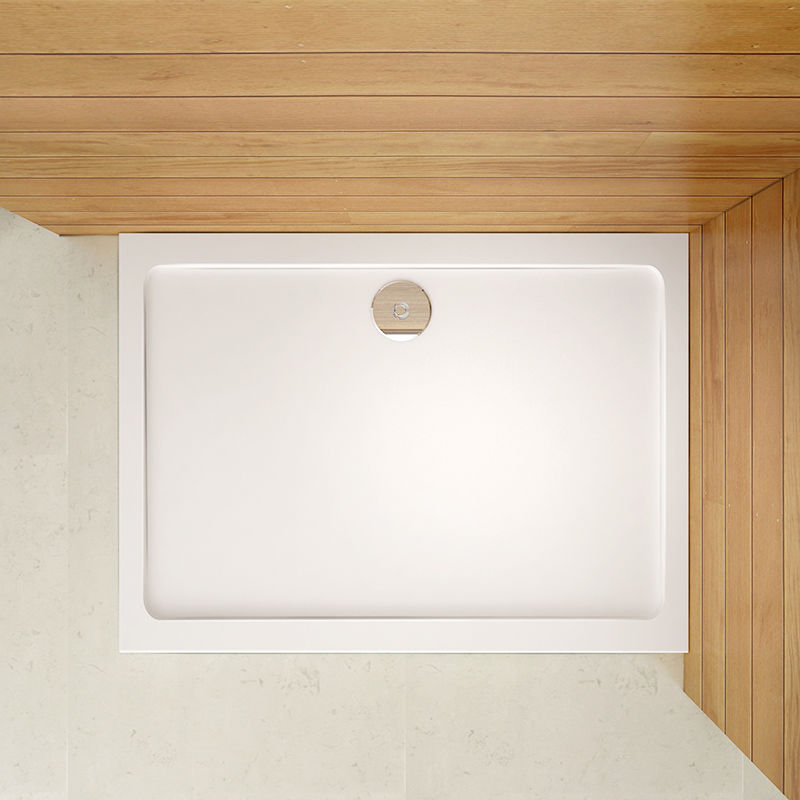 Quality 1200x700x30mm Slimline Shower Enclosure Rectangle
