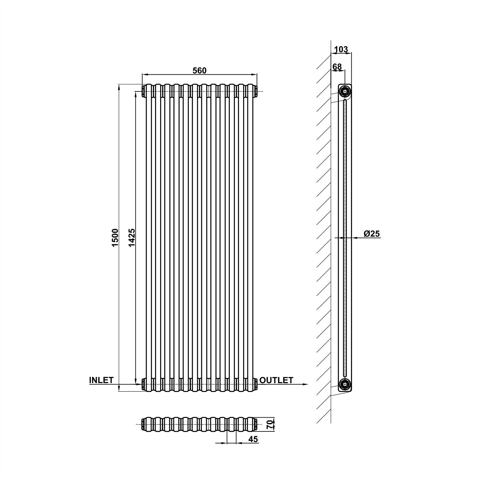 Modern Heating Radiator