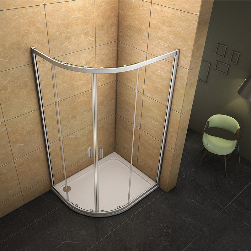 Offset Quadrant Shower Enclosure Amp Tray Corner Cubicle