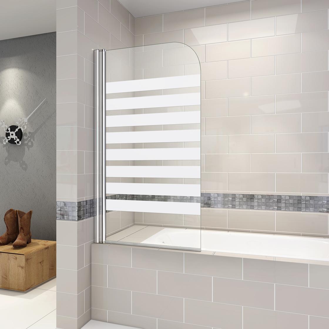 80x140cmbadewannen faltwand duschwand duschabtrennungnano glas badewannenaufsatz. Black Bedroom Furniture Sets. Home Design Ideas
