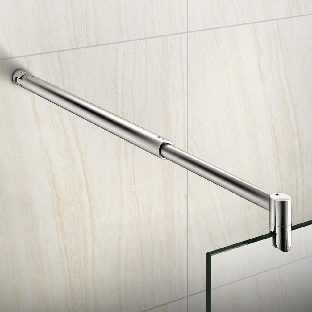 duschkabine glaswand stabilisator haltestange duschabtrennung dusche edelstahl ebay. Black Bedroom Furniture Sets. Home Design Ideas