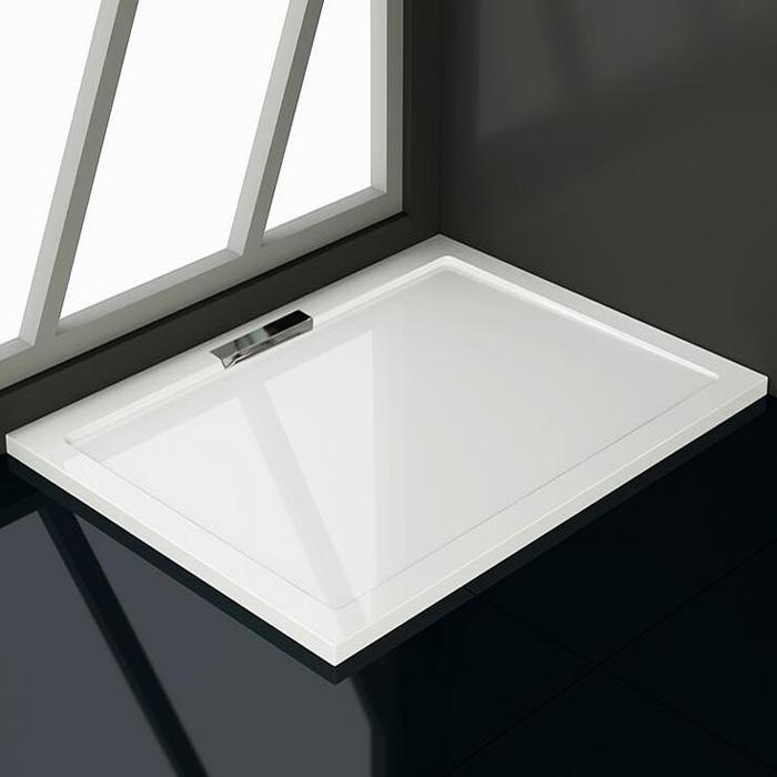 quadrat rechteck viertelkreis duschtasse duschkabine mit einer acryloberfl che ebay. Black Bedroom Furniture Sets. Home Design Ideas