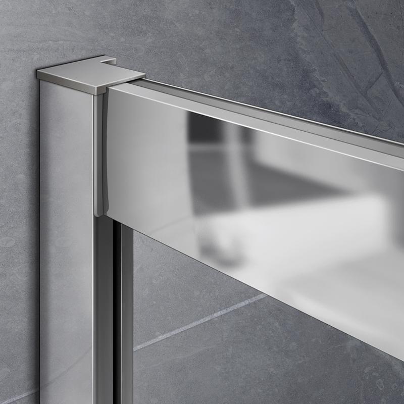 schiebet r duschkabine viertelkreis runddusche duschabtrennung mit duschtasse qm ebay. Black Bedroom Furniture Sets. Home Design Ideas