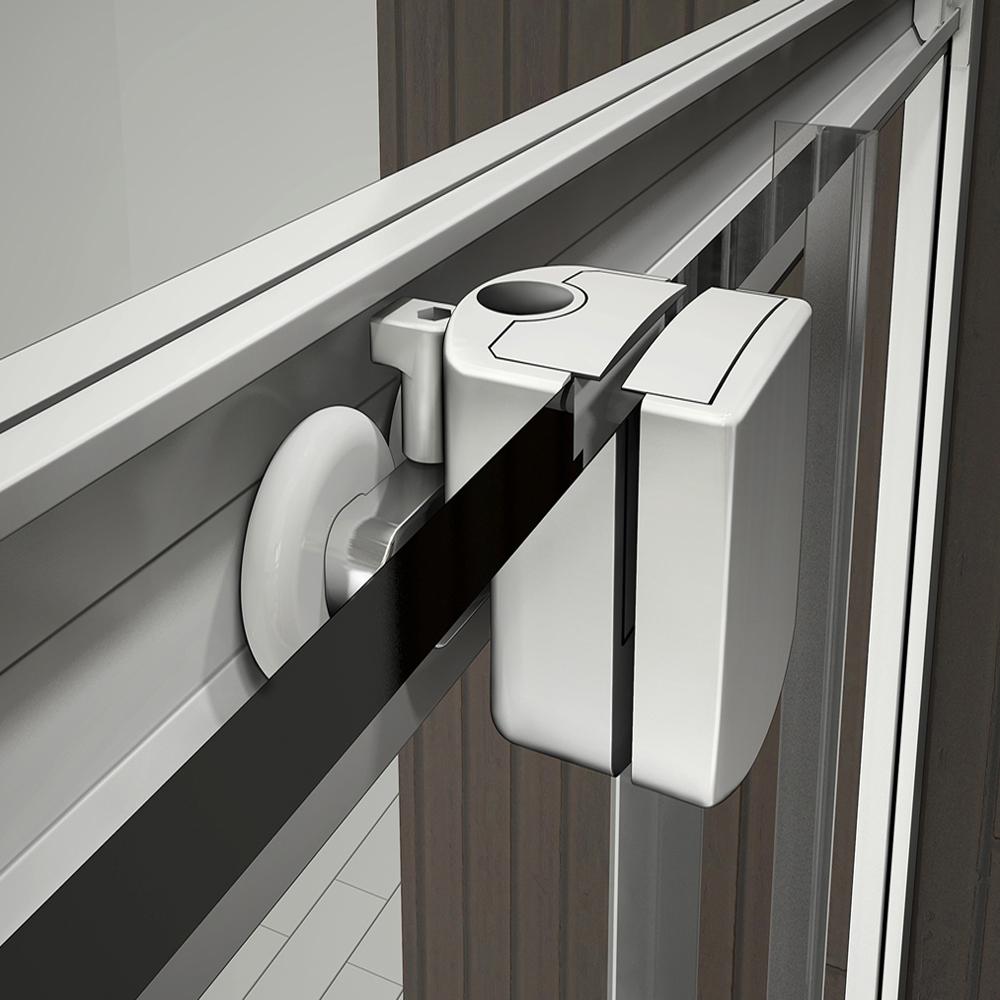 90x90 cm duschkabine viertelkreis runddusche schiebet r dusche mit duschtasse ebay. Black Bedroom Furniture Sets. Home Design Ideas