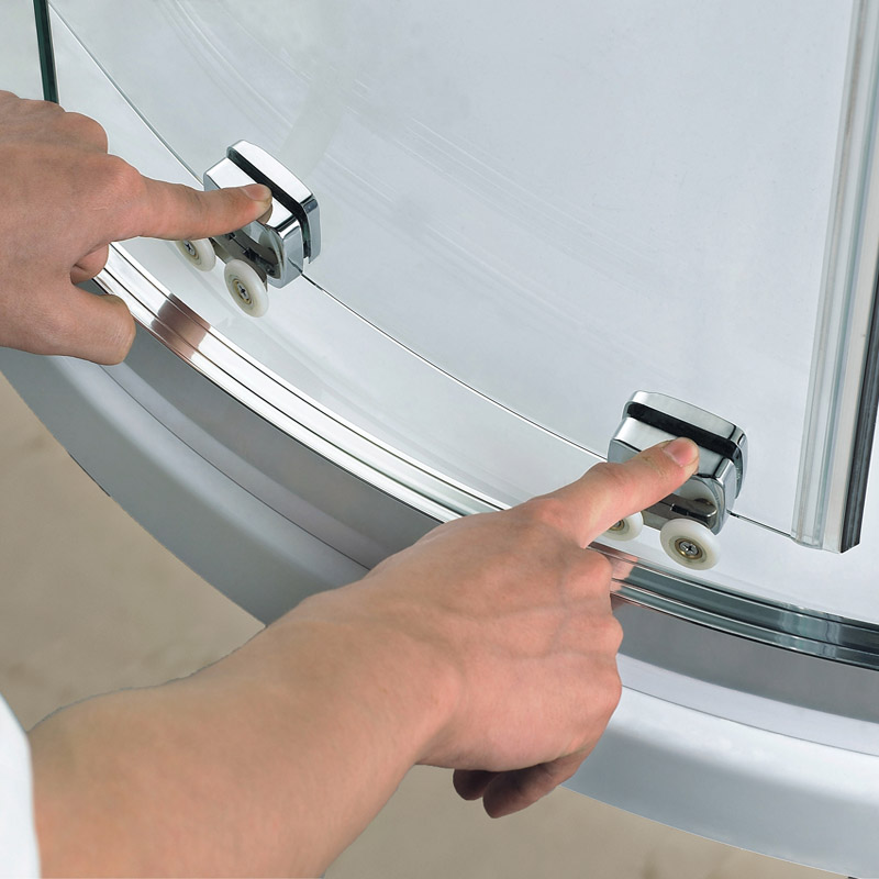 Quadrant Shower Enclosure Self Clean Glass Cubicle Door