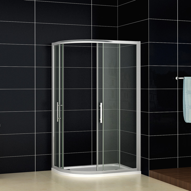 Quadrant Shower Enclosure Walk In Corner Cubicle Glass