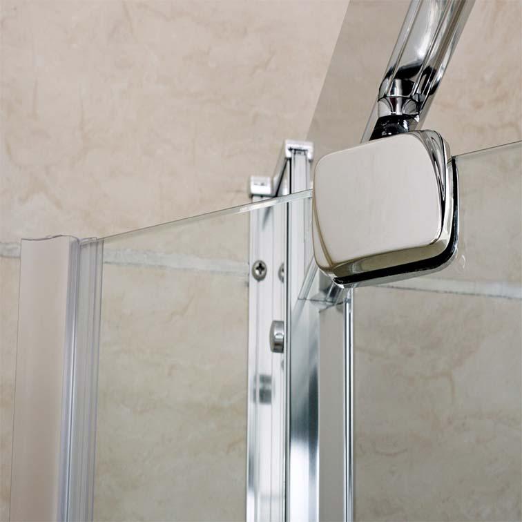 Shower enclosure pivot glass door walk in cubicle screen for Door 4 montpellier walk