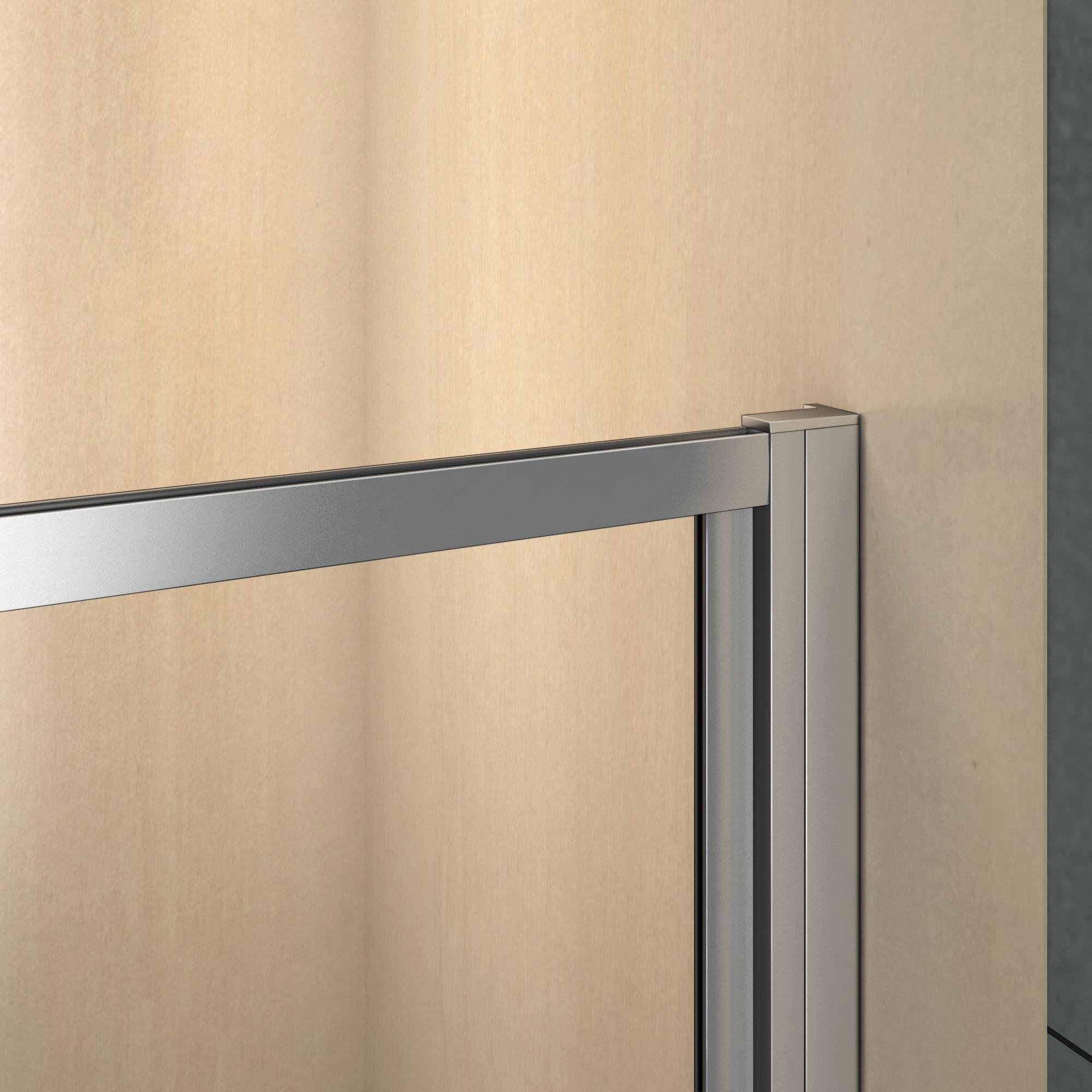70 100cm duschkabine duschabtrennung faltt r esg duschwand dusche duschtasse brg ebay. Black Bedroom Furniture Sets. Home Design Ideas
